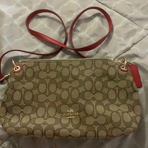 Authentic Coach Canvas Bag